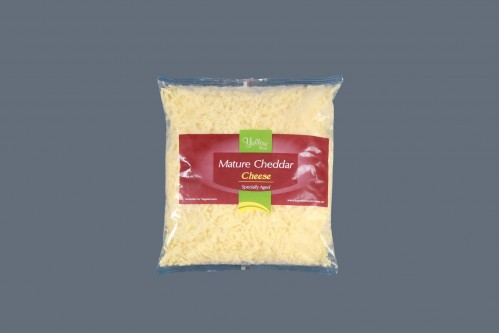 Grated White Mature Cheddar Cheese