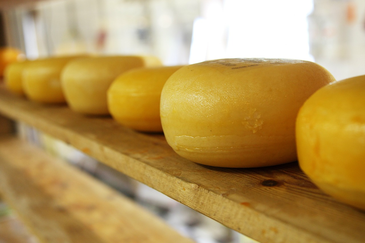 Cheese prices have also eased back