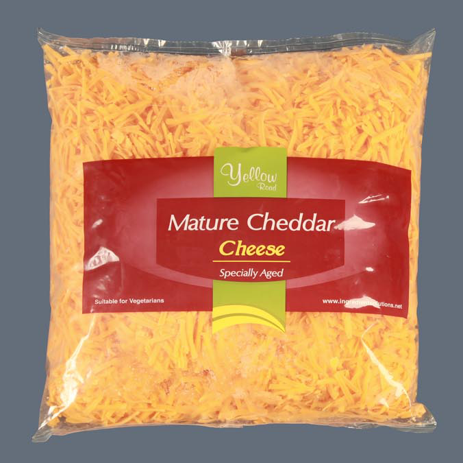 grated red cheddar for wholesale
