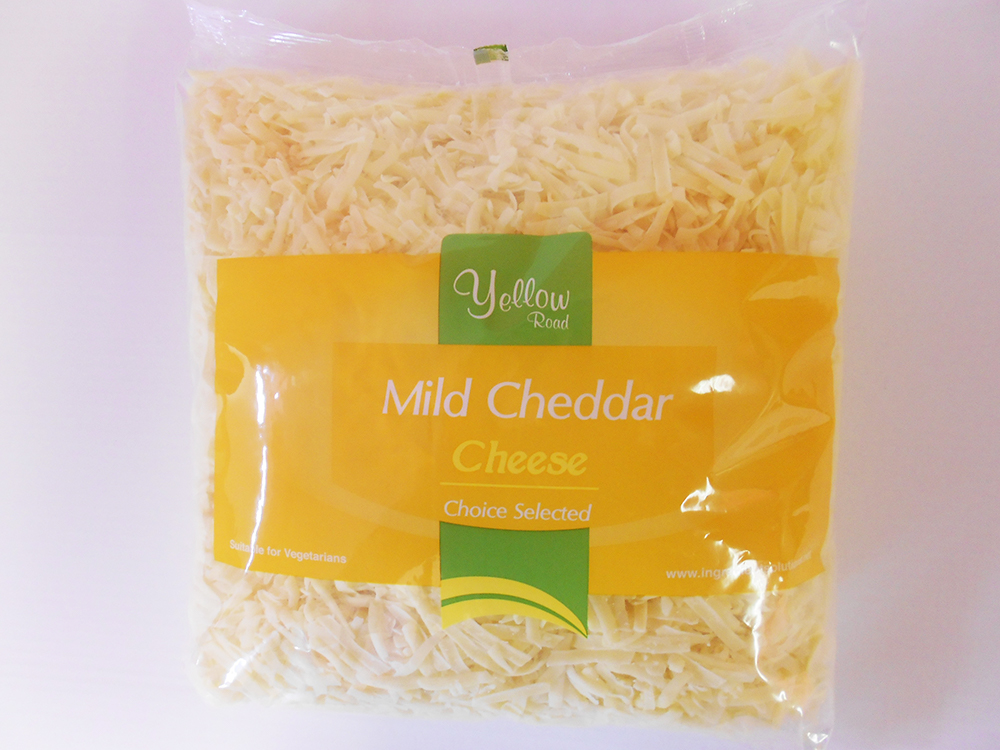 mild grated cheddar wholesale cheese supplier