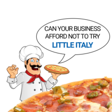 little italy pizza topping