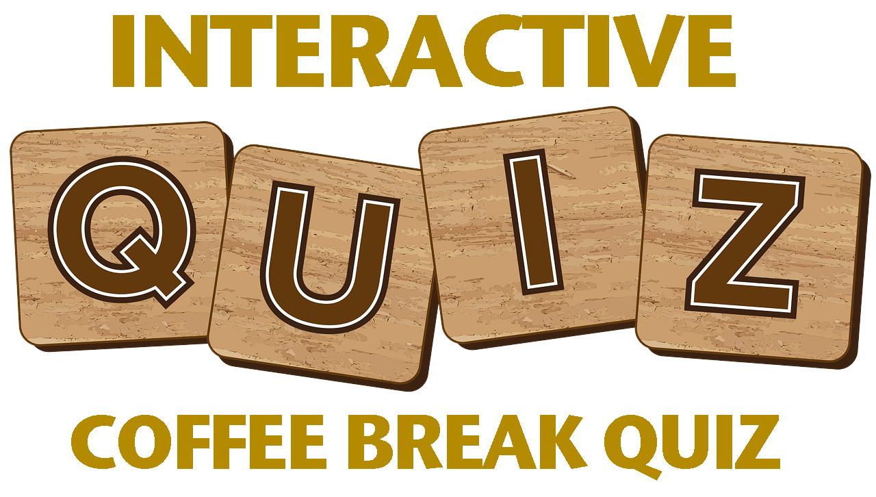 coffee break quiz