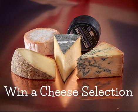 Win a Cheese Hamper